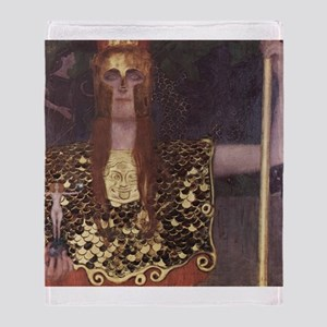 Pallas Athena Throw Blanket