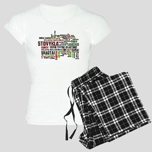 Stovykla Terms Women's Light Pajamas