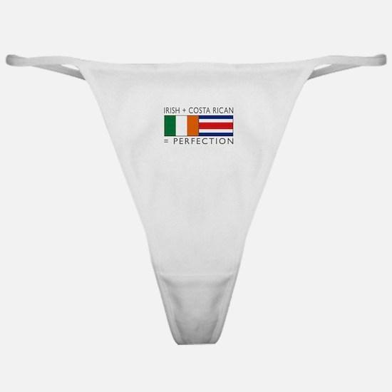 Irish Costa Rican flags Classic Thong