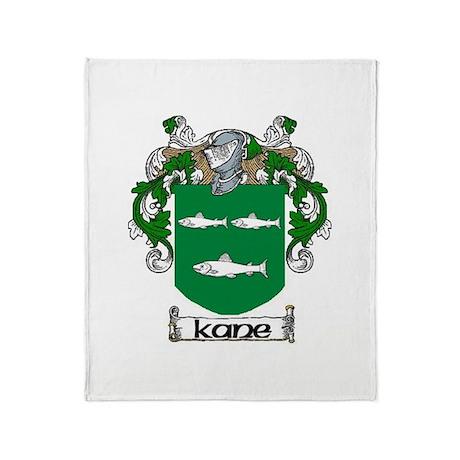 Kane Coat of Arms Throw Blanket