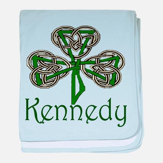 Kennedy Shamrock baby blanket