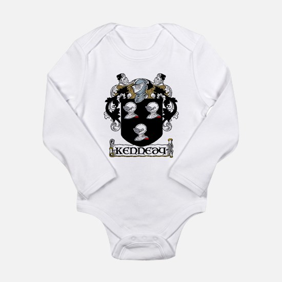 Kennedy Coat of Arms Long Sleeve Infant Bodysuit