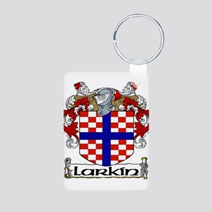 Larkin Coat of Arms Aluminum Photo Keychain