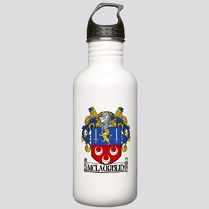 McLaughlin Coat of Arms Stainless Water Bottle 1.0