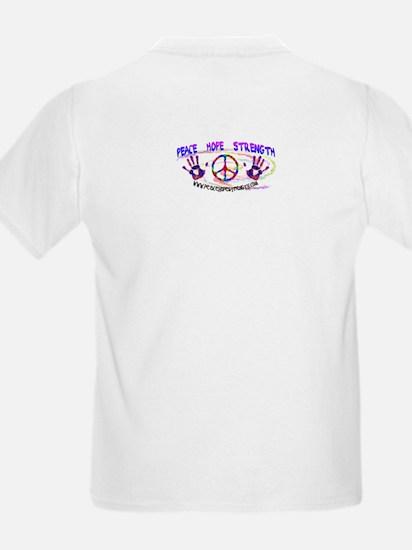Stop Hurting Earth Kids T-Shirt