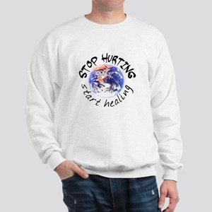 Stop Hurting Earth Sweatshirt