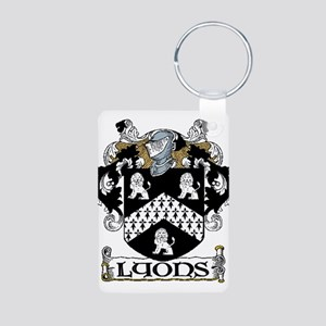 Lyons Coat of Arms Aluminum Photo Keychain