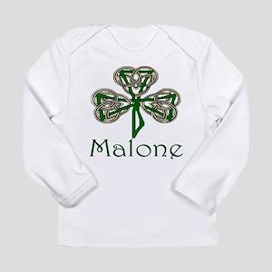 Malone Shamrock Long Sleeve Infant T-Shirt