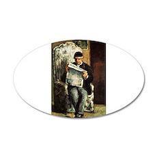 Artists Father 22x14 Oval Wall Peel