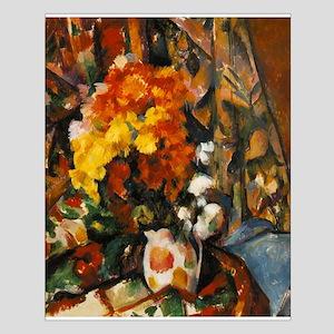 Chrysanthemums Small Poster