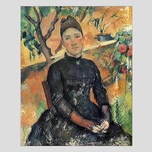 Madame Cezanne Small Poster