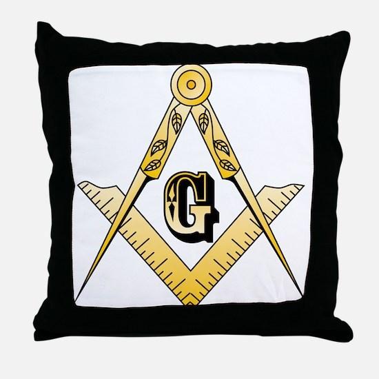 Masonic Throw Pillow