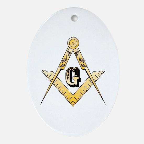 Masonic Ornament (Oval)