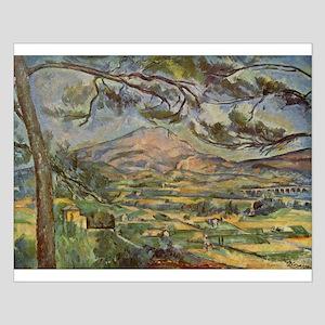 Mont Sainte Victoire Small Poster