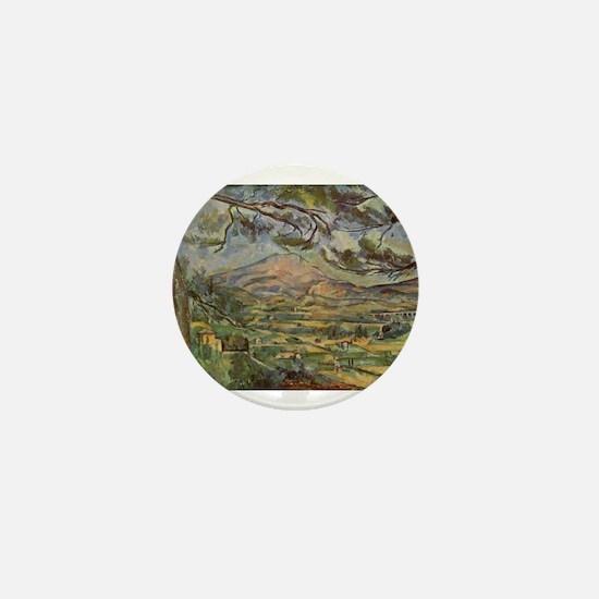 Mont Sainte Victoire Mini Button