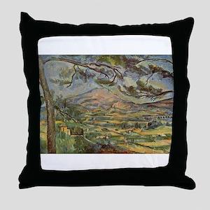Mont Sainte Victoire Throw Pillow