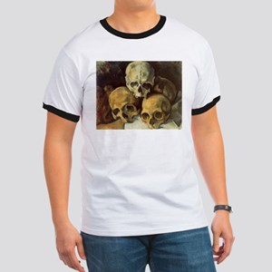 Pyramid of Skulls Ringer T