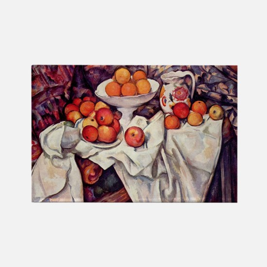 Still Life with Apples and Or Rectangle Magnet