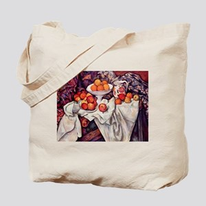 Still Life with Apples and Or Tote Bag