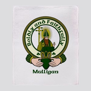 Mulligan Clan Motto Throw Blanket