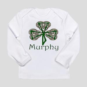 Murphy Shamrock Long Sleeve Infant T-Shirt