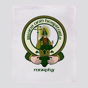 Murphy Clan Motto Throw Blanket