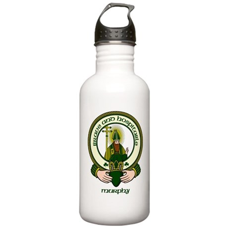 Murphy Clan Motto Stainless Water Bottle 1.0L