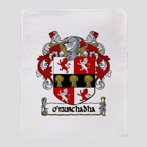 O'Murchadha Arms Throw Blanket