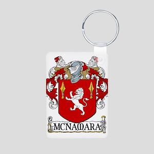 McNamara Coat of Arms Aluminum Photo Keychain