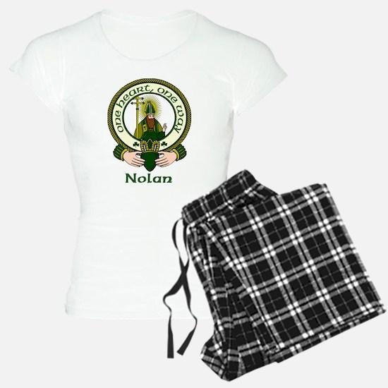 Nolan Clan Motto Pajamas