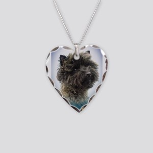 Top Winning Cairn Terrier Gir Necklace Heart Charm