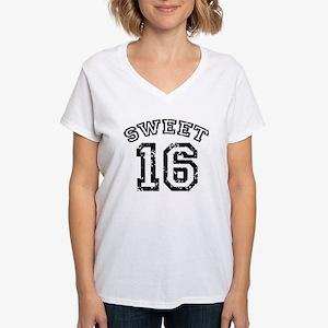 Sweet 16 Women's V-Neck T-Shirt