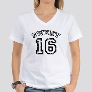 Sweet 16 Women's V-Neck T-Shirt