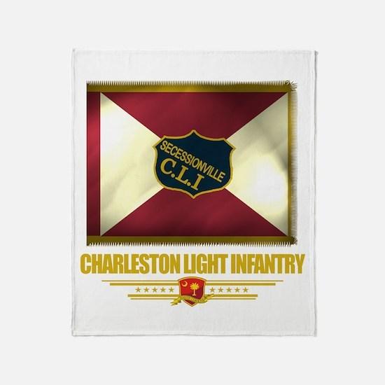Charleston Light Infantry Throw Blanket
