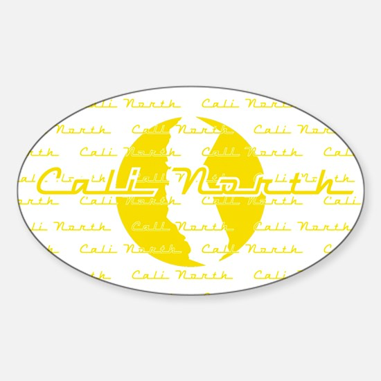 Nothern cali Sticker (Oval)