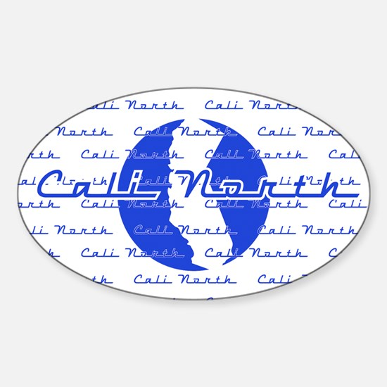 Cool Nothern cali Sticker (Oval)