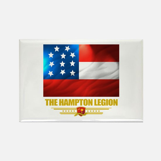 The Hampton Legion Rectangle Magnet