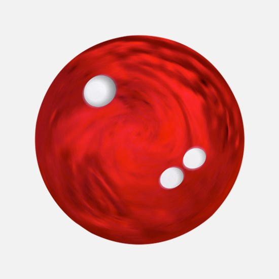 "Bowling Ball 3.5"" Button (100 pack)"