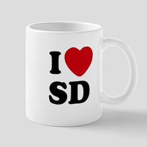 I Heart SD San Diego Coffee Mug
