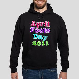 April Fool's Day 2011 Hoodie (dark)
