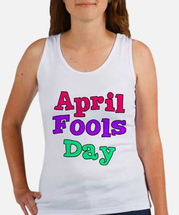April Fool's Day Women's Tank Top