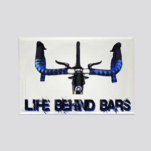 Life Behind Bars Rectangle Magnet