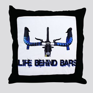 Life Behind Bars Throw Pillow