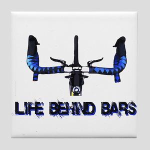 Life Behind Bars Tile Coaster