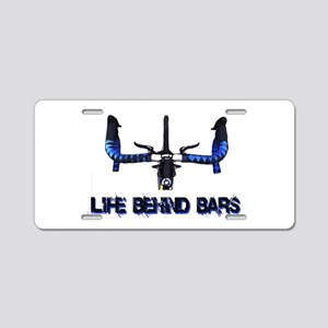 Life Behind Bars Aluminum License Plate