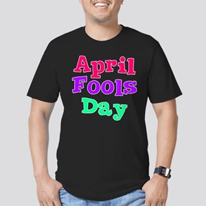 April Fool's Day 2 Men's Fitted T-Shirt (dark)