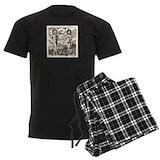 Androgyne Men's Dark Pajamas