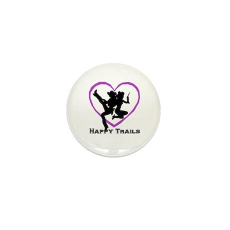 """""""Happy Trails Lesbians"""" Mini Button (10 pack)"""