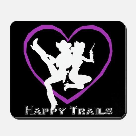 """Happy Trails Lesbians"" Mousepad"