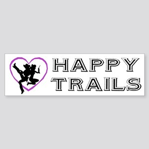 """Happy Trails Lesbians"" Bumper Sticker"